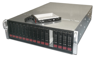 High density rackmount small footprint