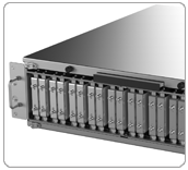 Small footprint rackmount for data capture